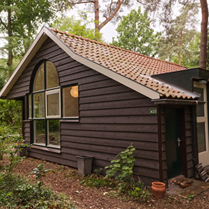 Romantisch boshuisje